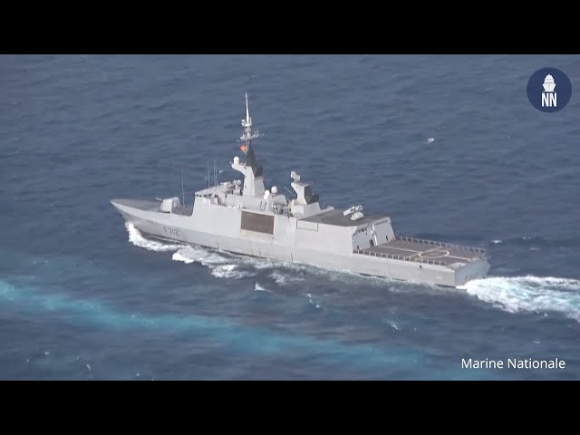 French Navy La Fayette-class Frigate Mid-Life Update: FS Courbet