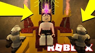 RULING A KINGDOM IN ROBLOX!! *2 PLAYER TYCOON* Becoming Queen