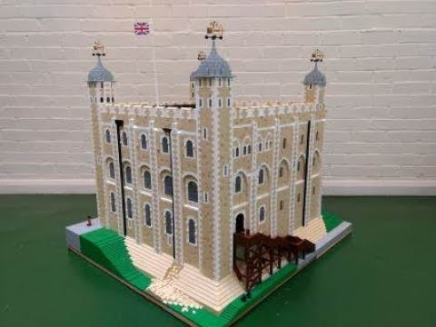 Lego Tower Of London | Stop Motion Animation