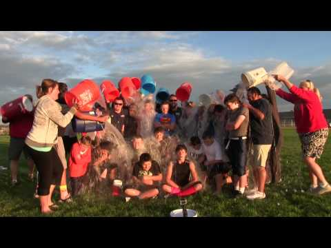 Parker Hawks Black Millburn ALS Donation and Ice Bucket Challenge