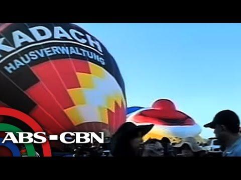 TV Patrol: Hot Air Balloon Fiesta sa Clark, patok na pasyalan