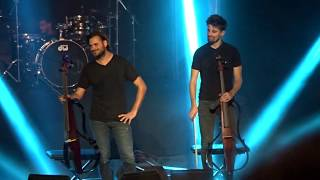 2CELLOS - Wake Me Up & Despacito in Merida, Spain
