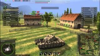 Ground War Tanks. VK 100.01 (P). Первобытная мощь.