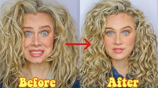 NEW $6.99 GARNIER CGM APPROVED CURL STYLER REVIEW 😑