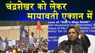 Bhim Army Chief Chandrashekhar को लेकर BSP Chief Mayawati एक्शन में