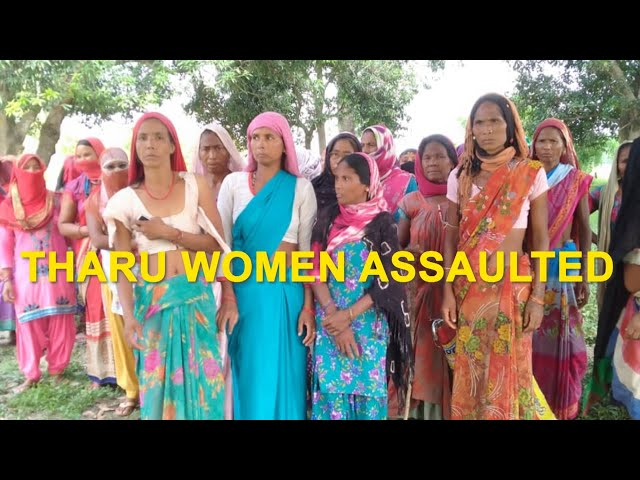 Tharu women allege assault in Dudhwa, FIR registered