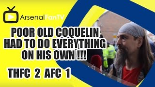 Poor old Coquelin had to do everything on his own !!! - Tottenham 2 Arsenal 1