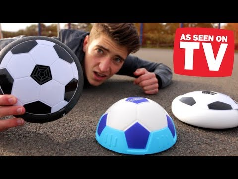 Testing 'HOVER BALL' Footballs!! Do They ACTUALLY Work??