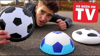 Testing 'HOVER BALL' Footballs!! - Do They ACTUALLY Work??