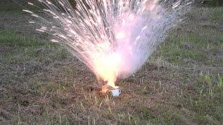 Sodium metal + Water = Chemical reaction!
