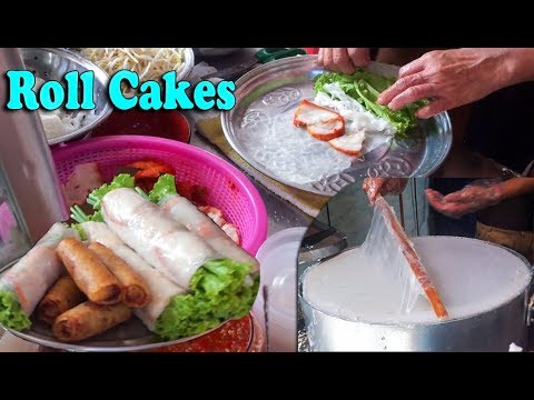 Asian Street Food, Fast Food Street in Asia, Cambodian Street food #186