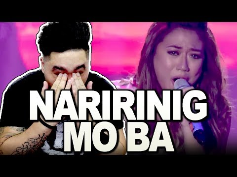 Morissette - Naririnig Mo Ba (Pre-Finals) REACTION!!!
