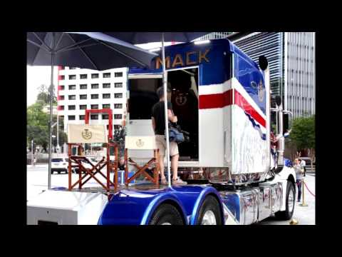 fit-for-a-sultan:-world's-most-expensive-mack-truck-unveiled-in-brisbane