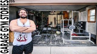 Former Gym Owner Builds Epic Garage Gym | Garage Gym Drop-In Ep. 1