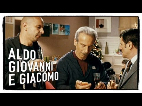 La cena di Natale... doppia! - La banda dei Babbi Natale di Aldo Giovanni e Giacomo