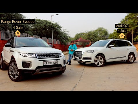 SUV Luxury Cars For Sale | Range Rover Evoque SE & Audi Q7 Technology Pack