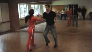 Cuban Salsa Dance Demo with Eric & Yanieri