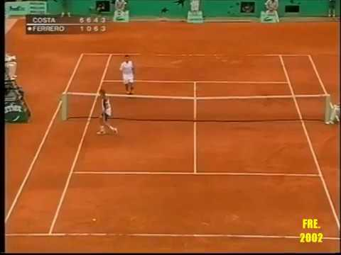 Albert Costa Grand Slam Highlights