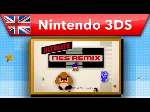 Ultimate NES Remix - Launch Trailer (Nintendo 3DS)