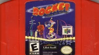 Classic Game Room - ROCKET: ROBOT ON WHEELS review for N64