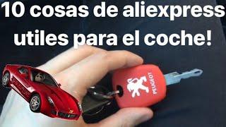 10 cosas utiles para el coche de aliexpress