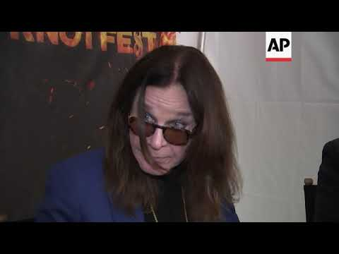 Ozzy Osbourne postpones concert after undergoing surgery on his hand for an infection Mp3