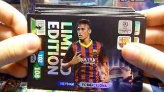 LIMITED 2013/14 - otwieranie kart Panini Champions League 2013/14 - blister biedronka, adrenalyn xl
