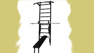 Шведская стенка: обзор(У нас Вы можете заказать индивидуальную программу тренировок по интернету: http://atletizm.com.ua/personalnyj-trener/uslugi ..., 2014-03-04T09:40:20.000Z)