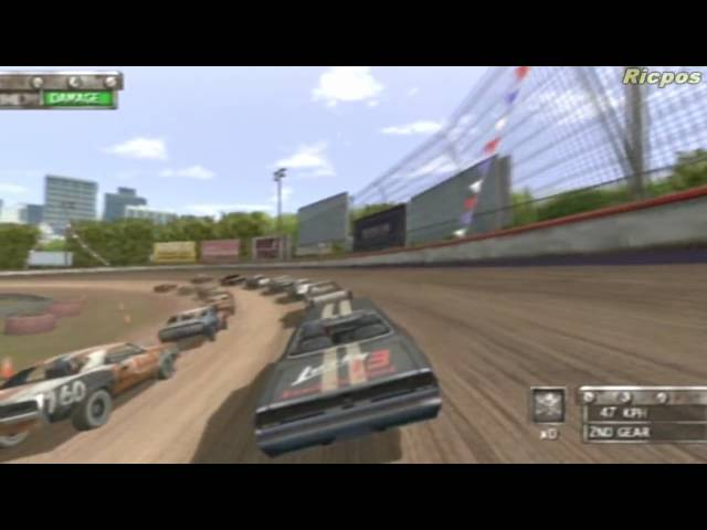 PS2 - Test Drive Eve of Destruction   Whip Around Race