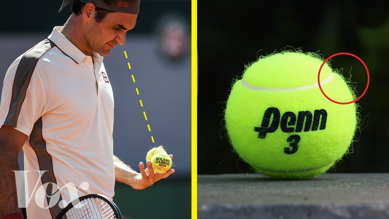What tennis pros look at when they pick a ball