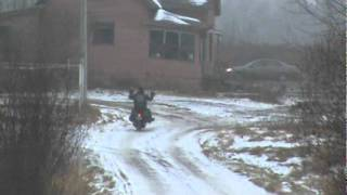 Winter Harley