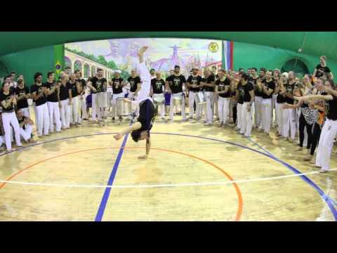 Solo On Batizado. First Capoeira Meeting, Moscow. CDO Mestre Cueca