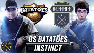 Os Batatões VS. Instinct Team (COMPLETO) - GRANDE FINAL #Six4X5