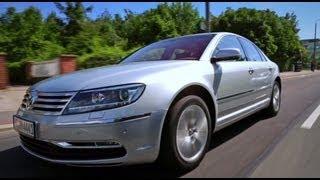 Тест-драйв Volkswagen Phaeton 3,0 TDI 2013 // АвтоВести 113