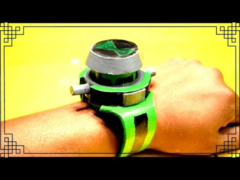 Make a Ben 10 Alien Force Omnitrix ( recalibrated ) watch - DIY