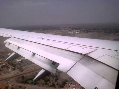 Landing to banjul, Gambia