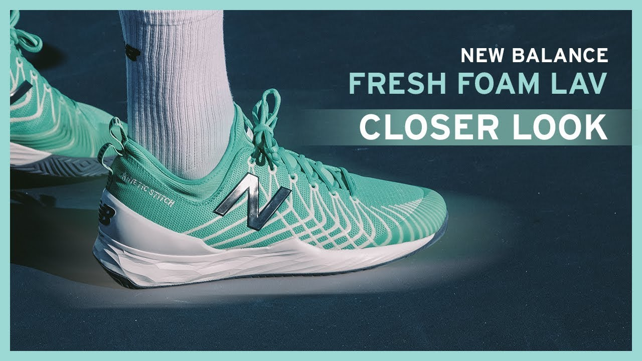 new arrival 0d643 0445f Milos Raonic s New Balance FreshFoam LAV   Exclusive to Pro Direct Tennis