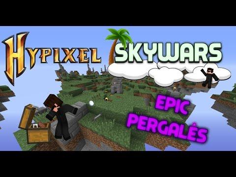 "Minecraft - Hypixel Skywars ! ""EPIC PERGALĖS"" !!! #2"