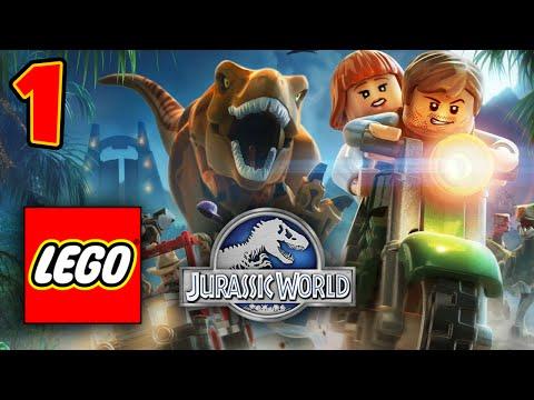 LEGO Jurassic World | Český Let's Play #1 Porty