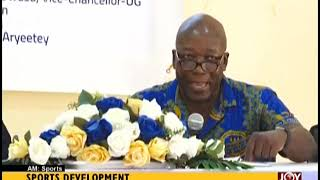 Sports Development - AM Sports on JoyNews (20-9-18)
