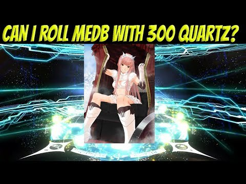 FGO NA: Can I roll Medb with 300 SQ?