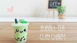 Green Tea Bubble Tea Clay Tutorial