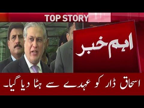 Ishaq Dar Removed Form  Finance Minister   Neo News