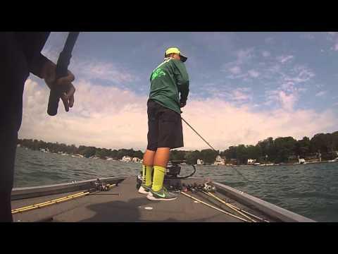 Diamond lake bass tournament 5th place finish youtube for Diamond lake fishing report