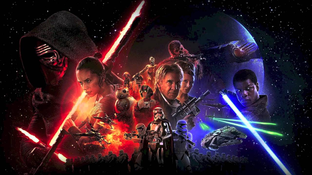 the force awakens cover related keywords