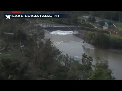 Raw: Failing Dam Threatens Puerto Rico