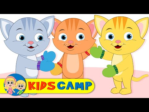 Three Little Kittens | Meow! Meow! Meow! Popular Nursery Rhymes Collection for Children by KidsCamp