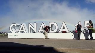 3D Canada 150 Installation
