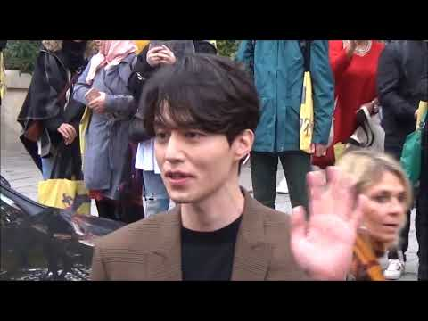 Lee Dong Wook 이동욱 @ Paris Fashion Week 1 october 2017 show Givenchy