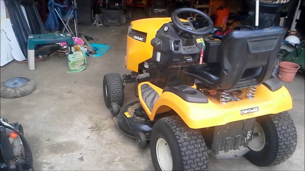 small resolution of cub cadet xt1 reverse problem fix